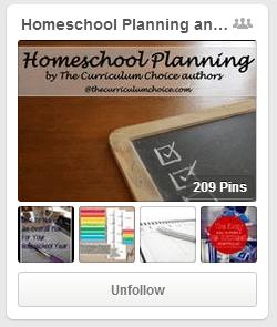 Homeschool Planning Pinterest Board from Curriculum Choice
