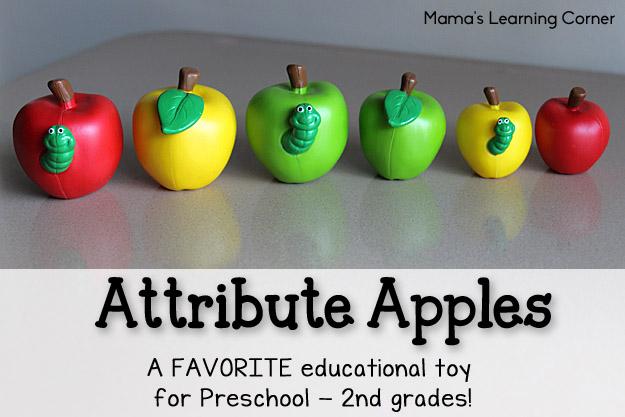 Attribute Apples: Favorite Educational Toy
