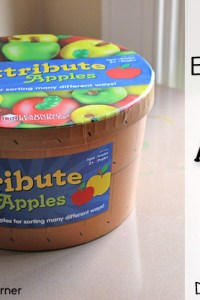 Attribute Apples: Favorite Educational Toy