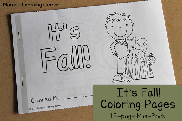 It's Fall Coloring Book