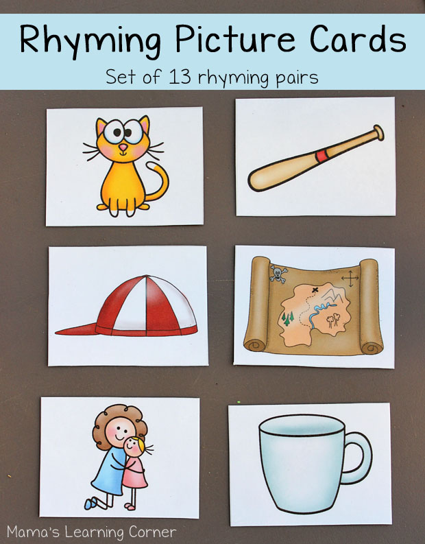 Free Rhyming Cards