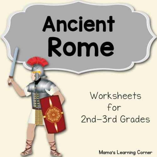 Ancient Rome Worksheets