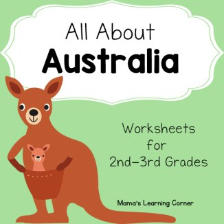 Australia Worksheets