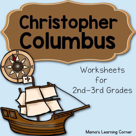Christopher Columbus Worksheets