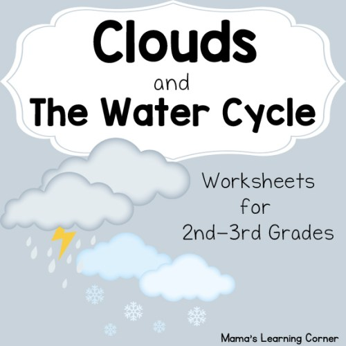 Clouds and the Water Cycle Worksheets