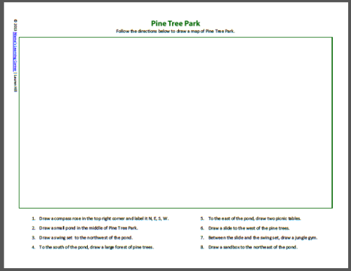 Maps and the Globe Worksheets