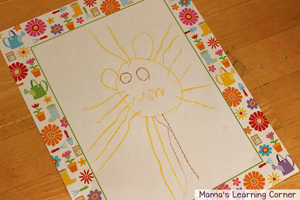 Activity Baskets for Kids:  I Can Draw Lion