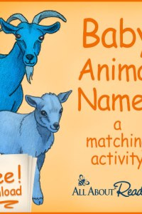Baby Animal Names: Free Download from All About Reading!