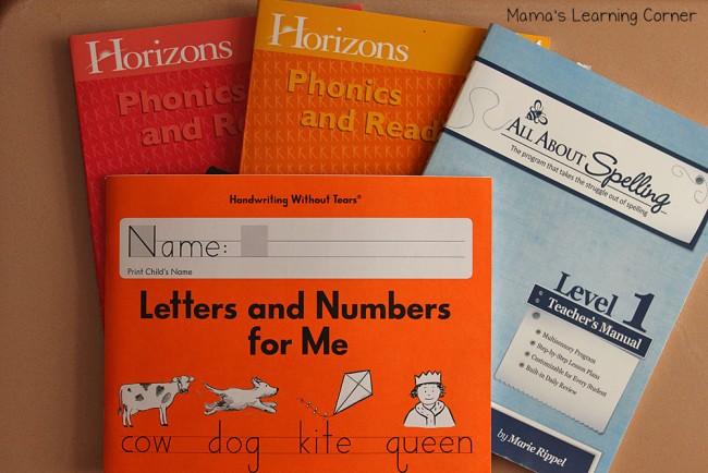 1st Grade Curriculum Phonics and Spelling