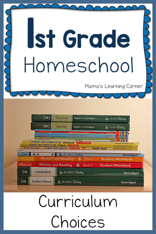 1st Grade Curriculum Plans 2015-2016