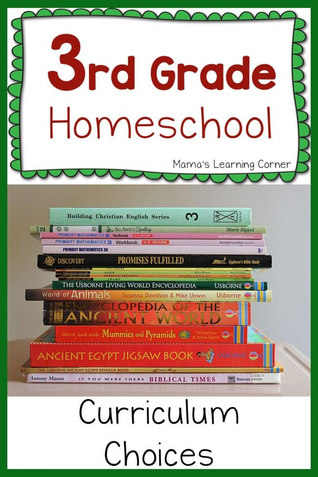 3rd Grade Curriculum Plans 2015-2016