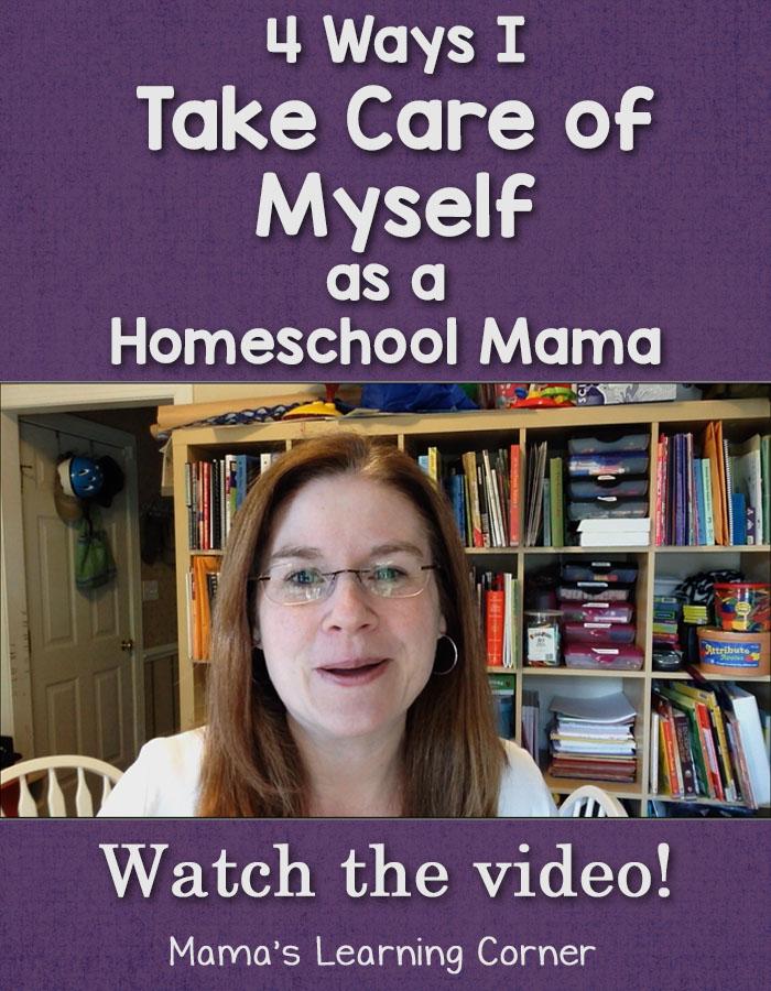 4 Ways I Take Care of Myself as a Homeschool Mama