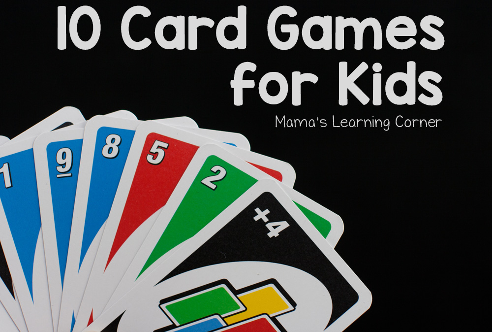 10 Card Games for Kids