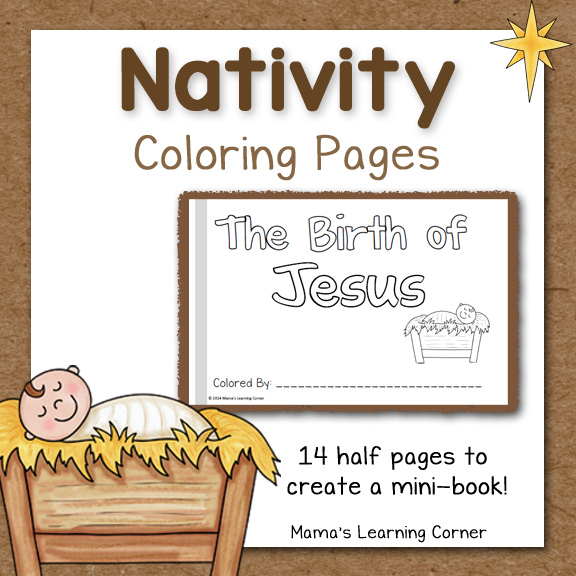 Printable Lds Coloring Pages Nativity