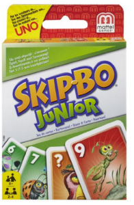 Skip Bo Junior Card Game