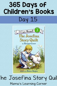 The Josefina Story Quilt – Day 15 of 365 Days of Children's Books