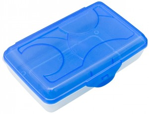 Plastic Lid Pencil Box