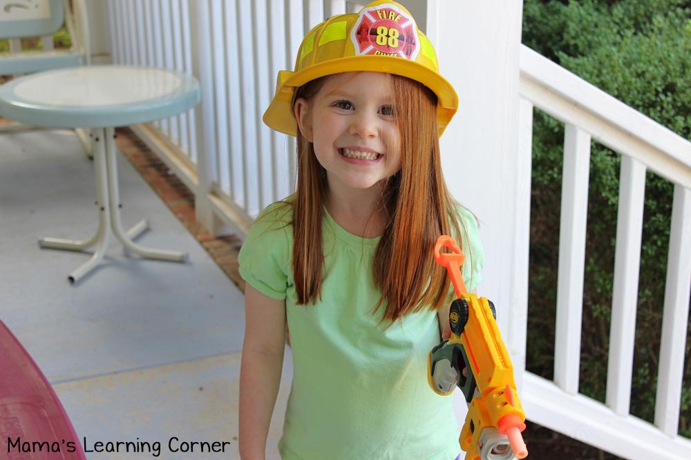 Pretend Play - Fireman!