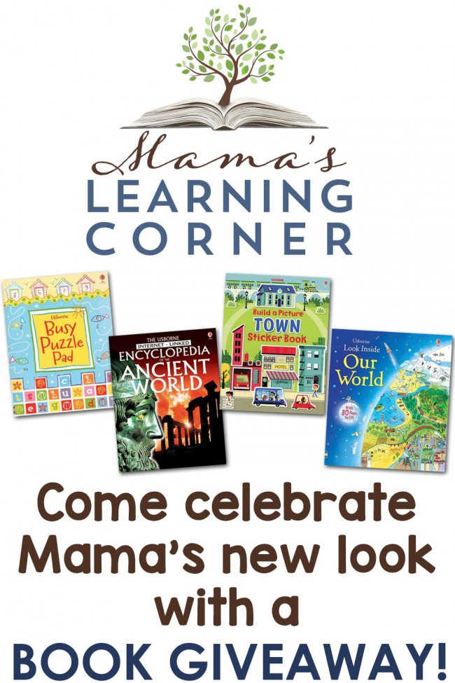 Come celebrate Mama's New Look with a Book Giveaway!