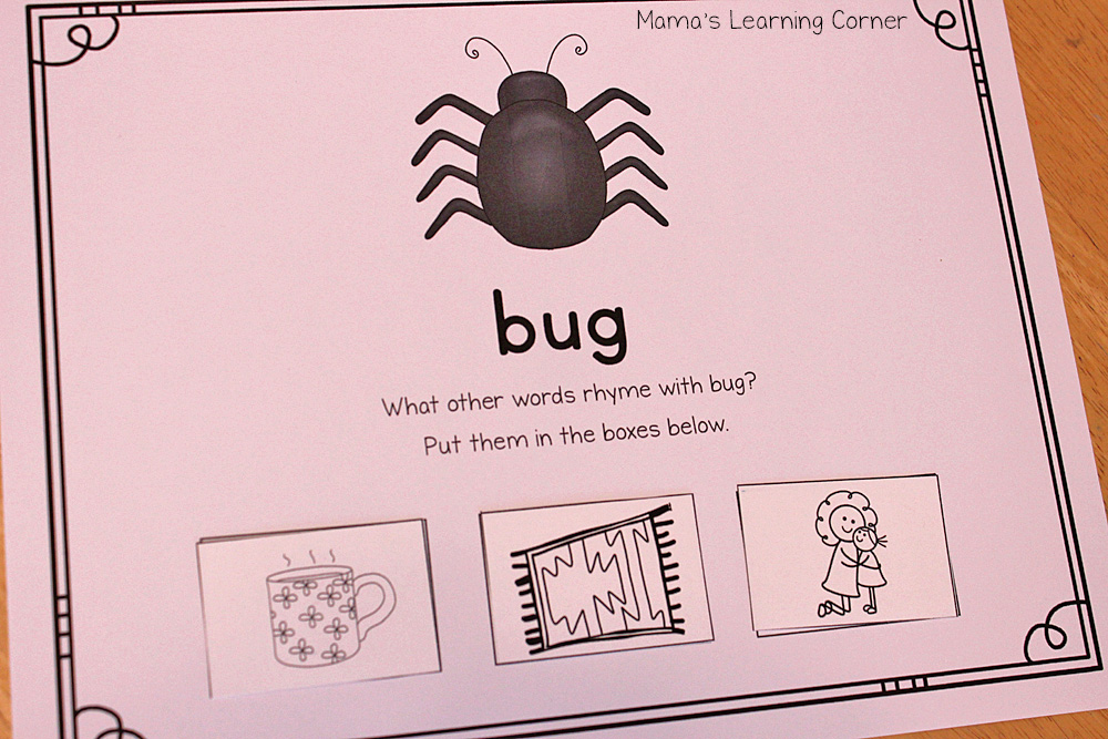 Rhyming Mats - Perfect for early and pre-readers!