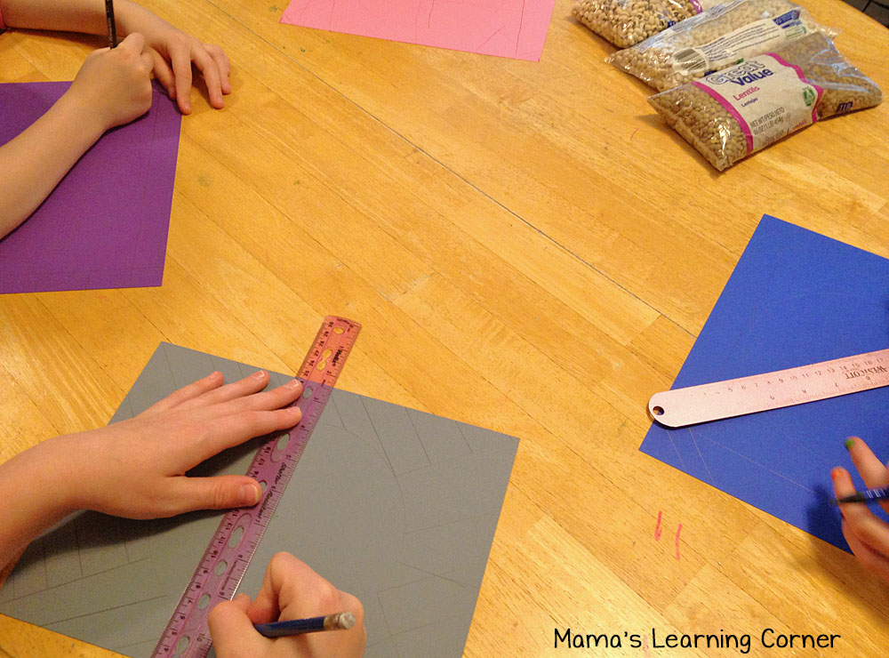 Creating a Mosaic: Drawing Angles