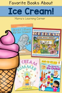 Favorite Books about Ice Cream - make sure you add these to your reading list!