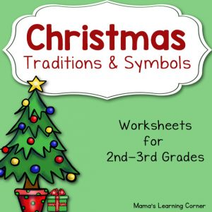 Christmas Unit Study Worksheet Packet