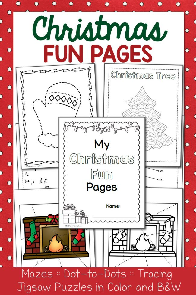Christmas Fun Pages Packet