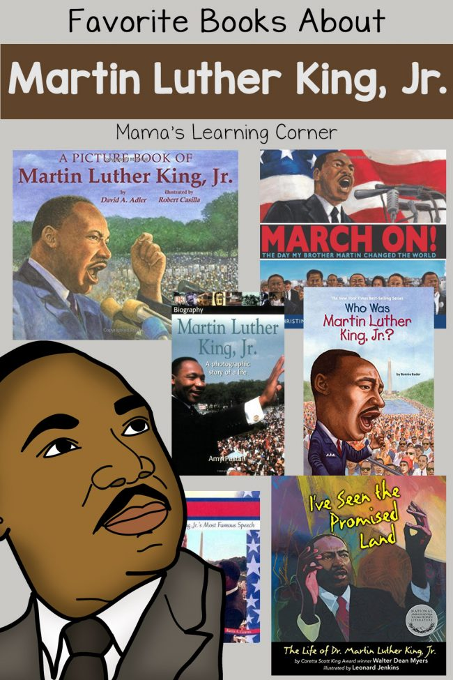 Favorite Books About Martin Luther King Jr.