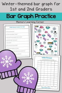 Winter Bar Graph Worksheets