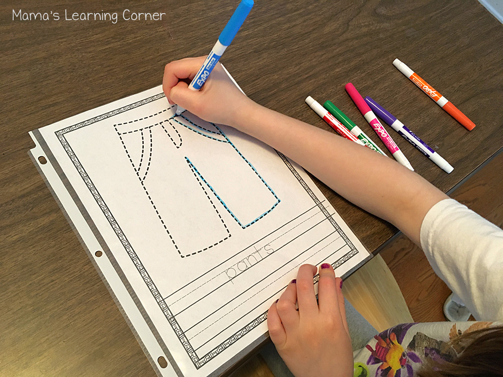 Tracing Pages Dry Erase Markers