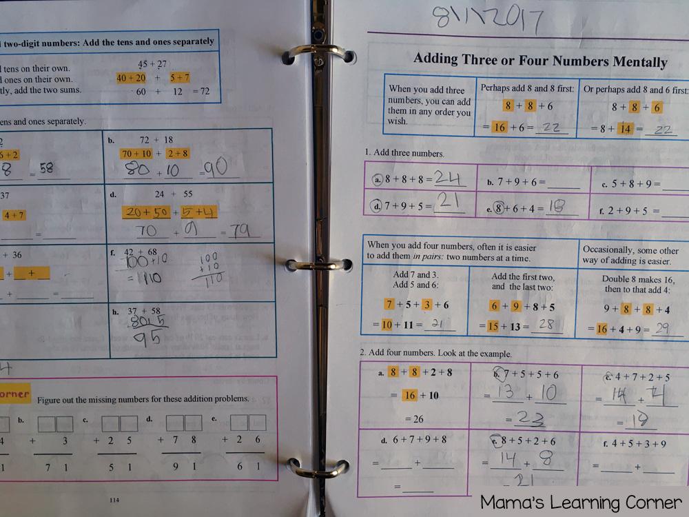 3rd Grade Homeschool Curriculum Math
