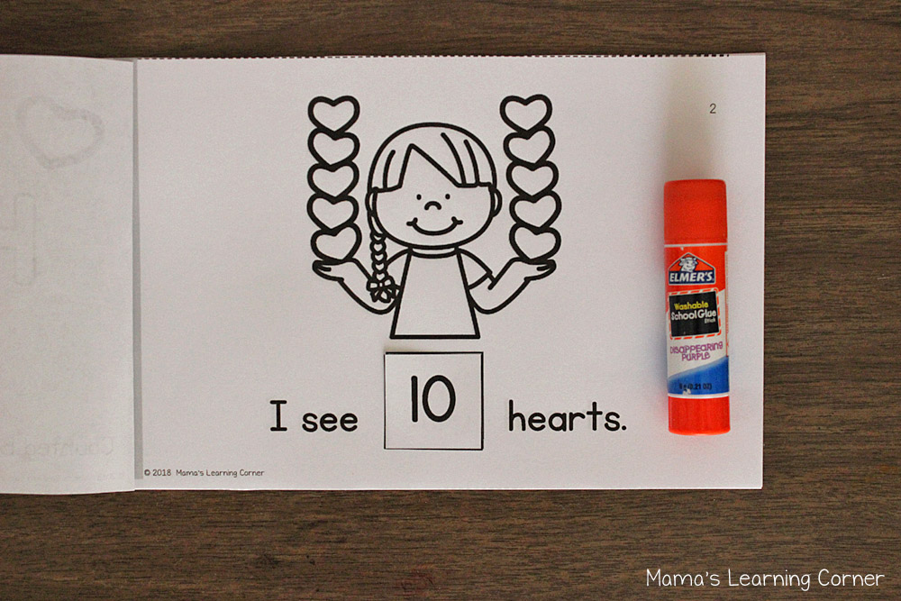 I Can Count Hearts Interactive Counting Book