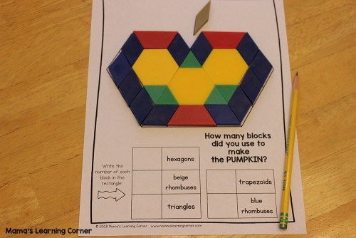 Fall Pattern Block Mats