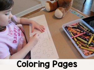 Coloring Pages All Access