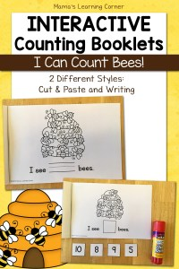 Counting Bees Booklet