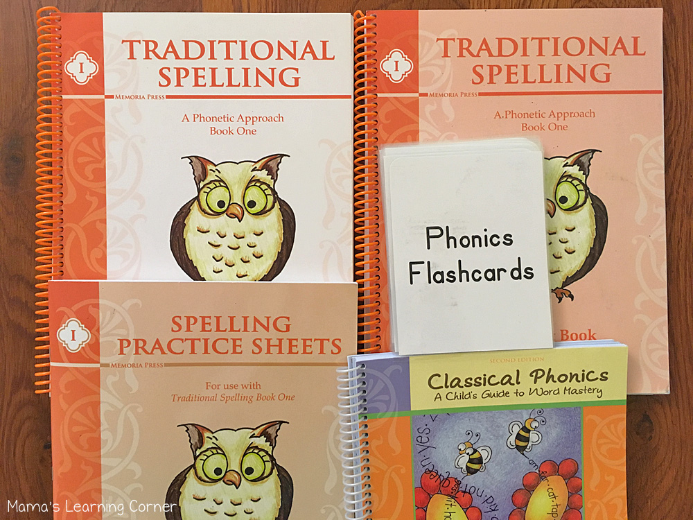 How I Teach Spelling in Our Homeschool Traditional Spelling