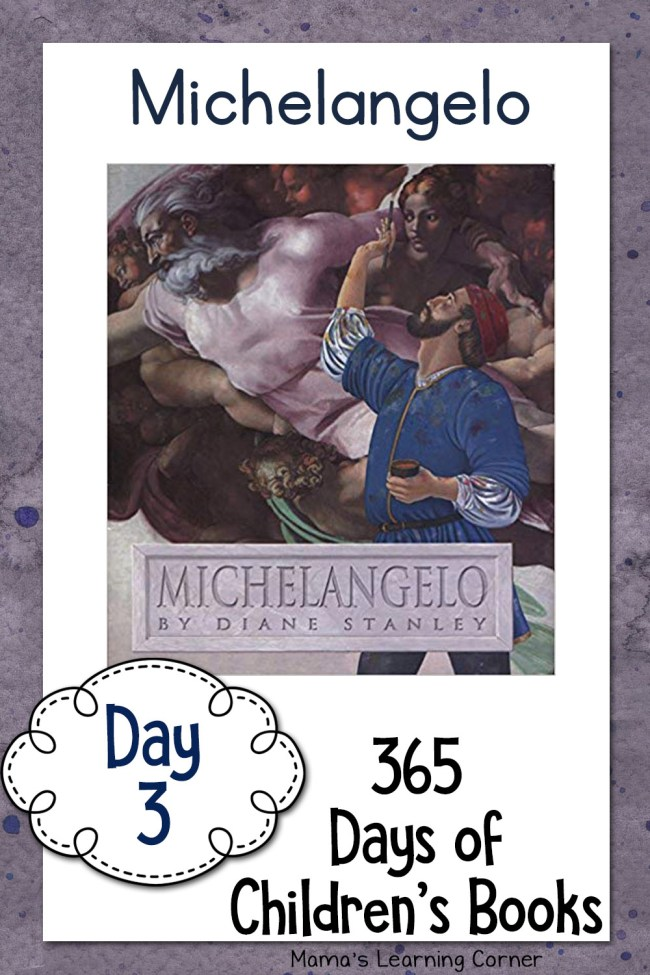 Children's Books - Michelangelo by Diane Stanley