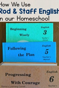 How We Use Rod and Staff English Grammar in Our Homeschool