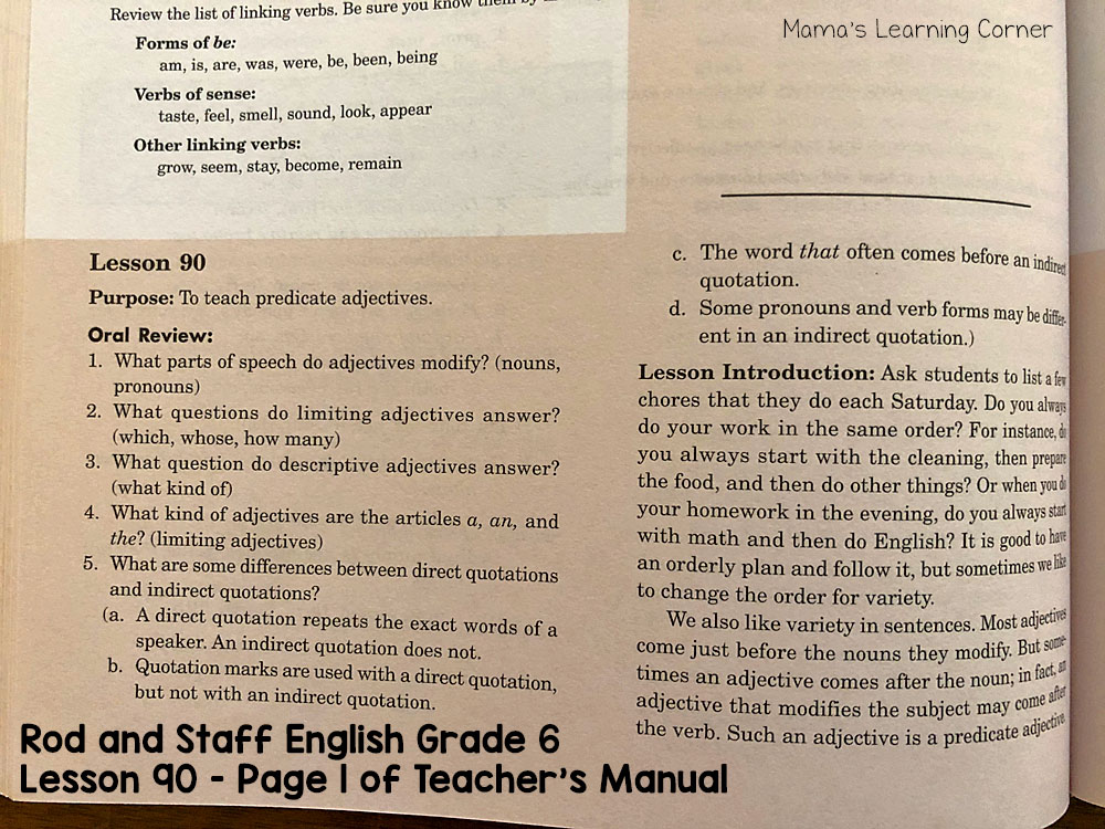 Rod and Staff English Grade 6 Page 1