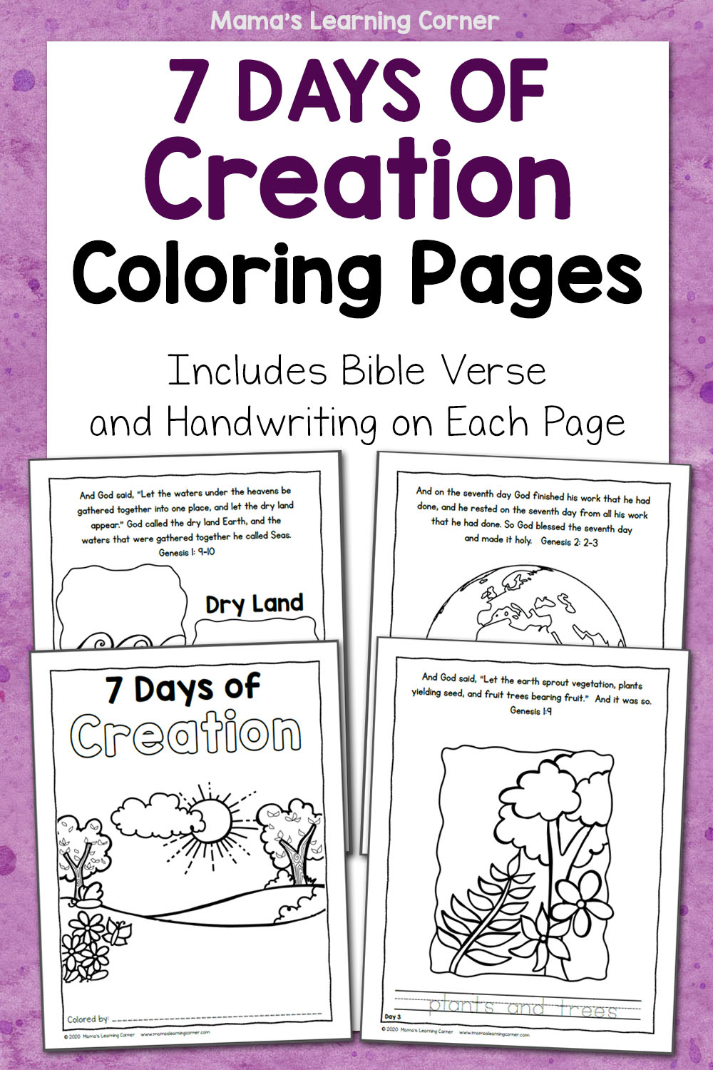 Top 10 Free Printable Bible Verse Coloring Pages Online | 1500x1000