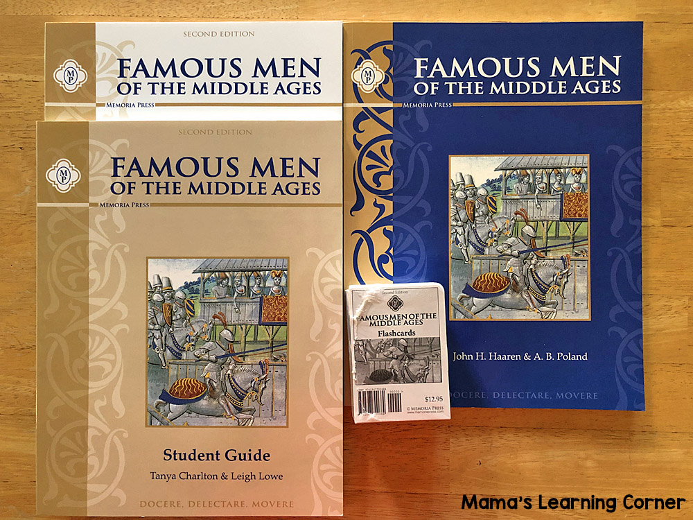 6th Grade Homeschool Curriculum Famous Men of the Middle Ages