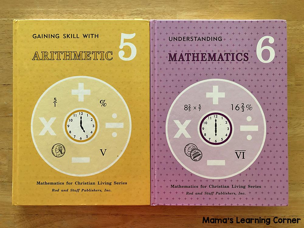 6th Grade Homeschool Curriculum Rod and Staff Math