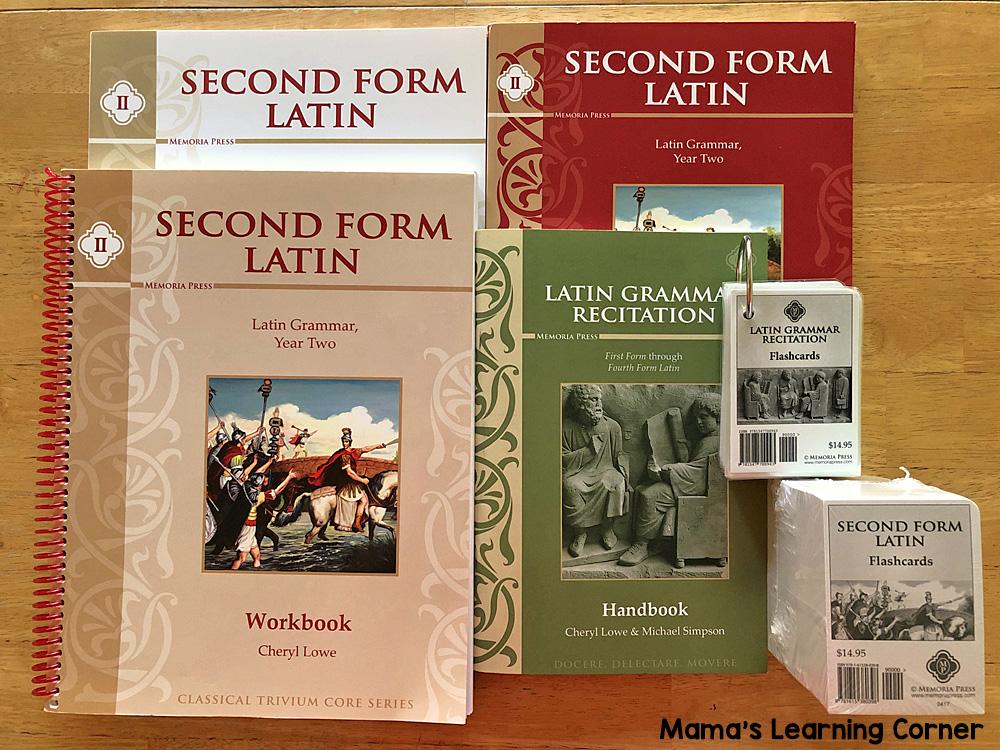 6th Grade Homeschool Curriculum Second Form Latin
