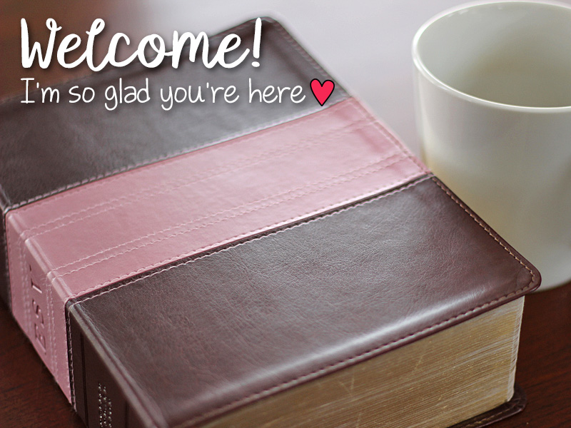Welcome I'm So Glad You're Here