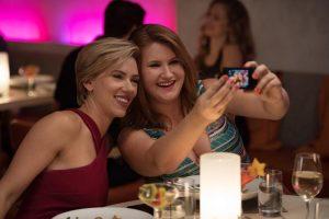 Scarlett Johansson and Jillian Bell in ROUGH NIGHT