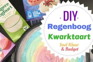 DIY Regenboog kwark