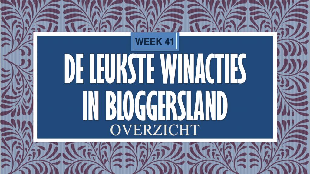 Winacties Week 41