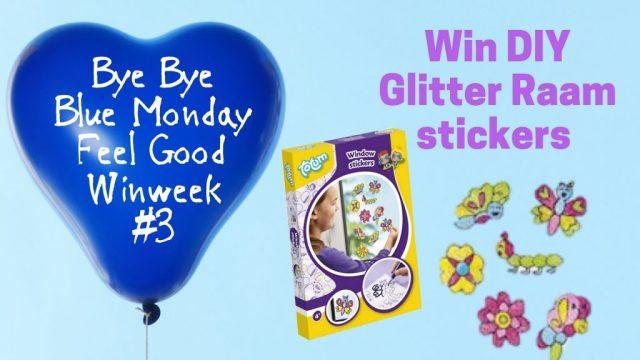 Bye Bye Blue Monday 3 - DIY Raamstickers