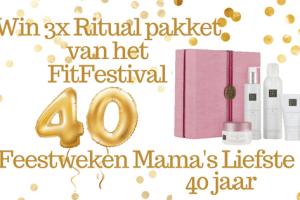 Feestweken Mama's liefste 40 jaar FitFestival 2